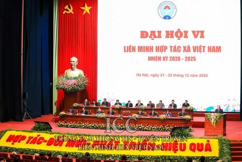 Ouverture du sixième congrès national de l'Union des coopératives vietnamiennes - ảnh 1