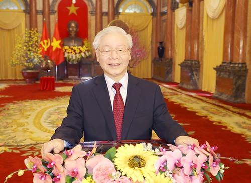 Têt 2021: voeux du secrétaire général du Parti communiste vietnamien et président de la République Nguyên Phu Trong - ảnh 1