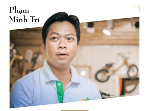 Un vélo en bambou «made in Vietnam» - ảnh 1