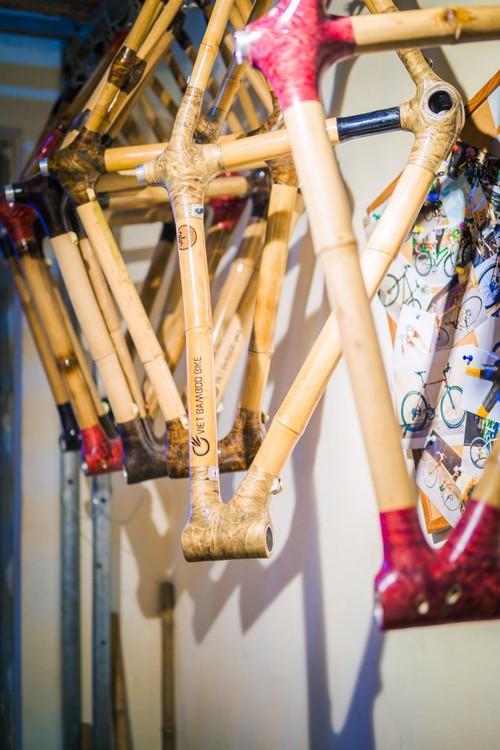 Un vélo en bambou «made in Vietnam» - ảnh 2