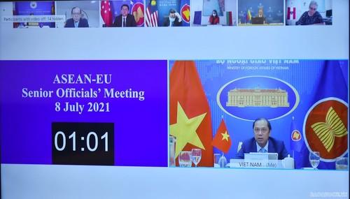 Renforcement du partenariat stratégique ASEAN-Union européenne - ảnh 1