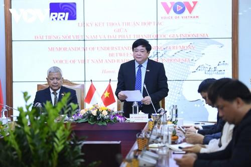 VOV và RRI ký thỏa thuận hợp tác mới, góp phần vun đắp tình hữu nghị Việt Nam – Indonesia - ảnh 2