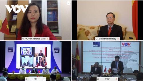 VOV và RRI ký thỏa thuận hợp tác mới, góp phần vun đắp tình hữu nghị Việt Nam – Indonesia - ảnh 3