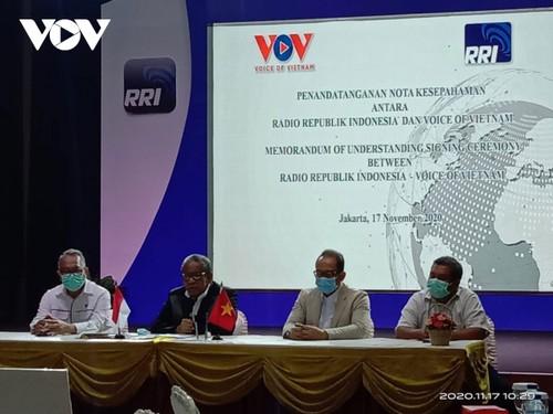 VOV và RRI ký thỏa thuận hợp tác mới, góp phần vun đắp tình hữu nghị Việt Nam – Indonesia - ảnh 5