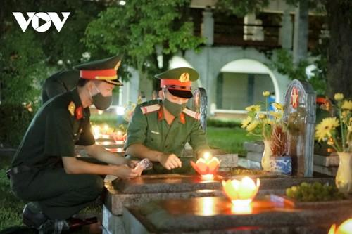 Thắp nến tri ân các anh hùng liệt sĩ ở Điện Biên - ảnh 5