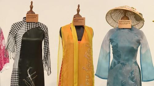 越南传统 奥黛上的越南文化遗产 - ảnh 8