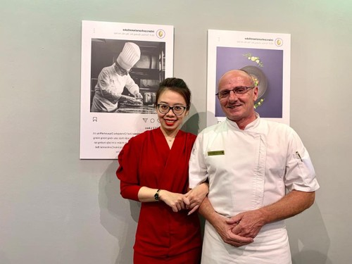 """Exposition: """"Toque blanche"""", la gastronomie française à déguster avec les yeux - ảnh 3"""