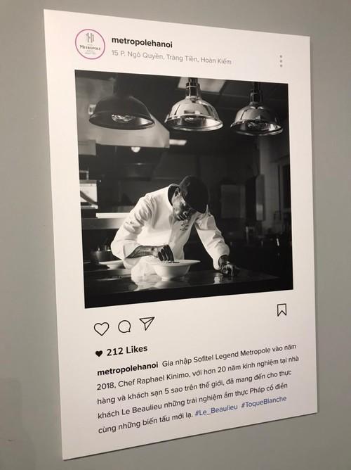 """Exposition: """"Toque blanche"""", la gastronomie française à déguster avec les yeux - ảnh 7"""