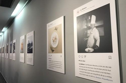 """Exposition: """"Toque blanche"""", la gastronomie française à déguster avec les yeux - ảnh 1"""