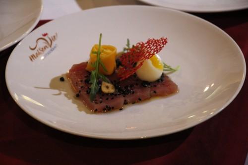 """Exposition: """"Toque blanche"""", la gastronomie française à déguster avec les yeux - ảnh 6"""