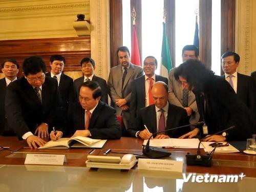 Vietnam und Italien verstärken Zusammenarbeit bei Kampf gegen Kriminalität - ảnh 1