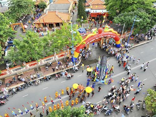 Kesan tentang festival tradisional di Provinsi Ba Ria-Vung Tau - ảnh 2