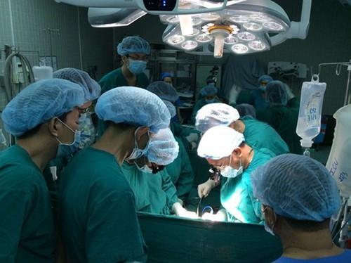 Kemajuan-kemajuan dalam teknik pencangkokan organ tubuh di Viet Nam - ảnh 1
