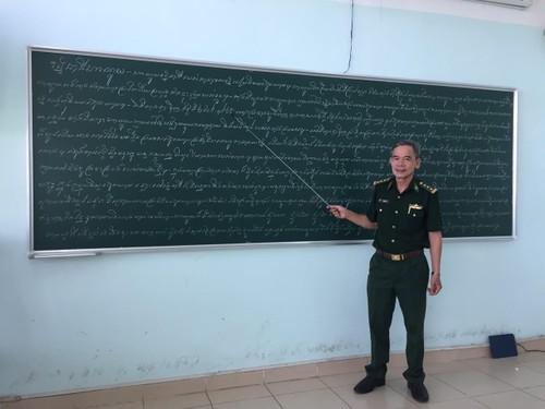 Veteran Perang Tran Quang Du – Penyebar Benih dalam Hubungan Persahabatan Vietnam-Kamboja - ảnh 1