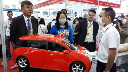 Hanoi supporting industry exhibition 2020 opens - ảnh 1
