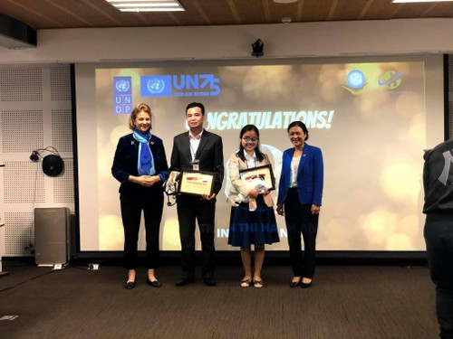 Interview: Trinh Hanh An - winner of first National essay competition commemorating 75th Anniversary  of  UN - ảnh 2