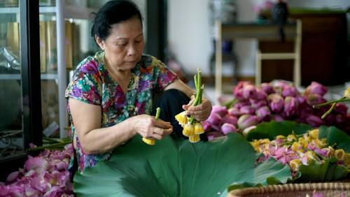 Ханойский лотосовый чай - утончённый вкус и изысканный аромат - ảnh 15