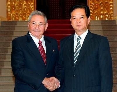 Củng cố quan hệ truyền thống đặc biệt Việt Nam - Cuba  - ảnh 1
