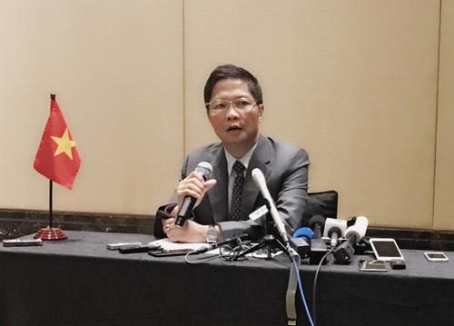 Các Bộ trưởng nhóm họp tiếp tục thúc đẩy Hiệp định TPP - ảnh 1