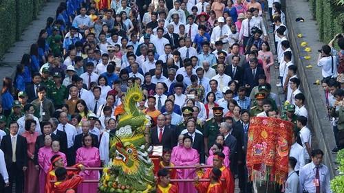 Lễ Giỗ Tổ Hùng Vương tại các địa phương - ảnh 1