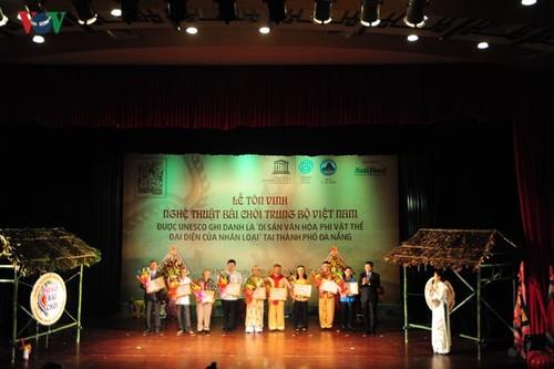 Đà Nẵng tổ chức lễ tôn vinh Nghệ thuật Bài Chòi Trung bộ Việt Nam - ảnh 1