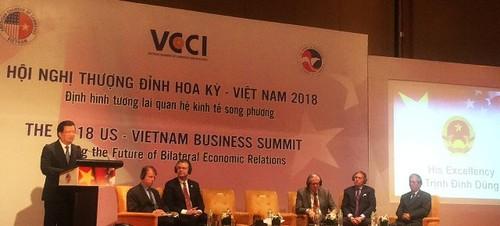 Định hình tương lai quan hệ kinh tế Việt Nam - Hoa Kỳ 2018 - ảnh 1