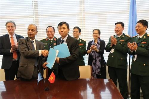 Việt Nam và Liên hợp quốc ký bản ghi nhớ về việc cử bệnh viện dã chiến tới Nam Sudan - ảnh 1