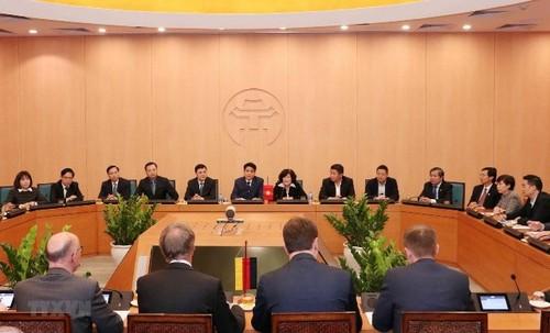 Hà Nội coi trọng việc xây dựng quan hệ thương mại toàn diện với Đức - ảnh 1
