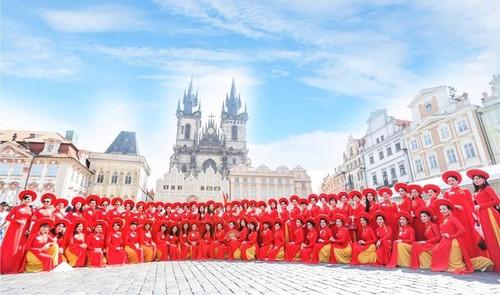 Cuộc thi Áo dài phu nhân – Nơi hội tụ nét đẹp của những người phụ nữ Việt trên khắp Châu Âu - ảnh 1