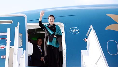 Chủ tịch Quốc hội Nguyễn Thị Kim Ngân lên đường thăm chính thức nước Cộng hòa Nhân dân Trung Hoa - ảnh 1