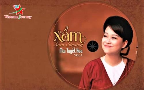 """Nghệ sĩ Mai Tuyết Hoa: """"Xẩm chính là cuộc sống của tôi"""" - ảnh 1"""