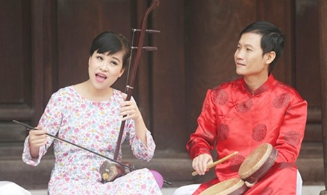 """Nghệ sĩ Mai Tuyết Hoa: """"Xẩm chính là cuộc sống của tôi"""" - ảnh 2"""