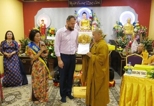Trung tâm văn hóa Phật giáo cấp tỉnh đầu tiên của người Việt tại Cộng hòa Czech - ảnh 1