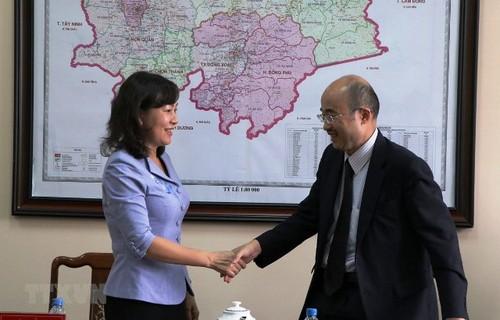 Doanh nghiệp Nhật Bản quan tâm đầu tư tại tỉnh Bình Phước - ảnh 1