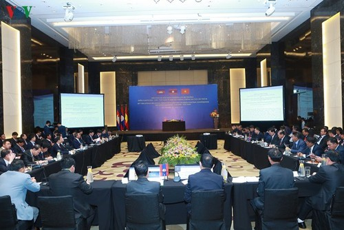 Bế mạc Hội nghị cấp Bộ trưởng giữa Campuchia-Lào-Việt Nam về phòng chống ma túy lần thứ 18 - ảnh 1