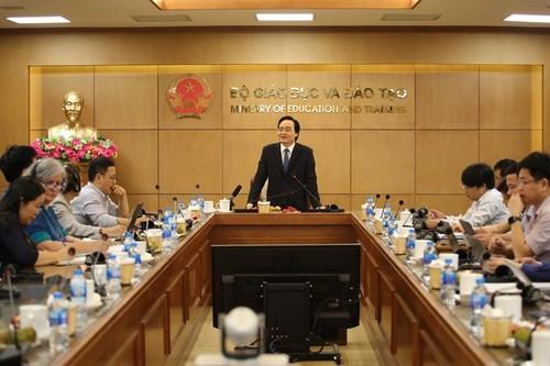Chiến lược giáo dục Việt Nam: Phải chung dòng chảy với thế giới - ảnh 1