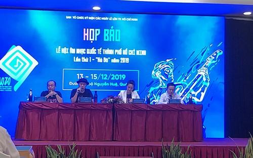 """Thành phố Hồ Chí Minh lần đầu tiên tổ chức lễ hội âm nhạc quốc tế """"Hò dô"""" - ảnh 1"""