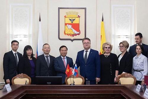 Thúc đẩy quan hệ giữa các địa phương Việt Nam và tỉnh Voronezh của LB Nga - ảnh 1