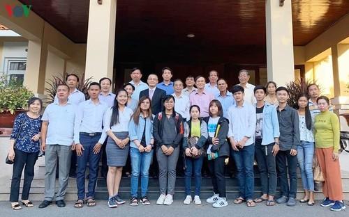 Ra mắt Quỹ phát triển nguồn nhân lực cộng đồng người gốc Việt tại Campuchia - ảnh 1