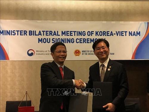 Việt Nam và Hàn Quốc nhất trí thúc đẩy quan hệ hợp tác kinh tế, thương mại và đầu tư - ảnh 1