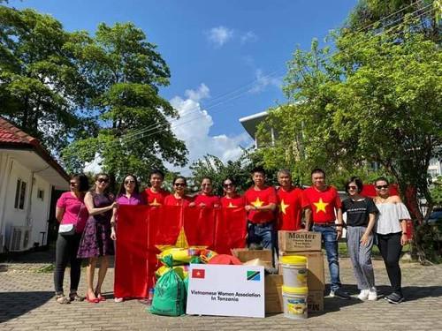 Gắn kết nhân văn qua hoạt động của Hội phụ nữ Việt Nam tại Tanzania - ảnh 2