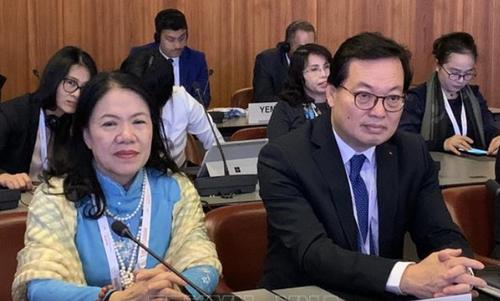 Việt Nam tham gia tích cực Hội nghị Chữ thập đỏ và Trăng lưỡi liềm đỏ quốc tế lần thứ 33 - ảnh 1
