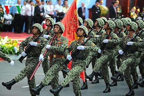 75 năm Quân đội nhân dân Việt Nam anh hùng, vững bước dưới lá cờ vinh quang của Đảng - ảnh 2