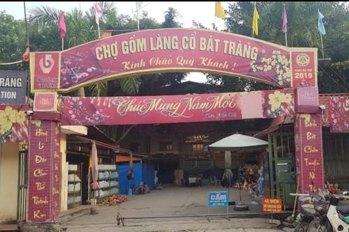 Xã Bát Tràng được công nhận là điểm du lịch Hà Nội - ảnh 1