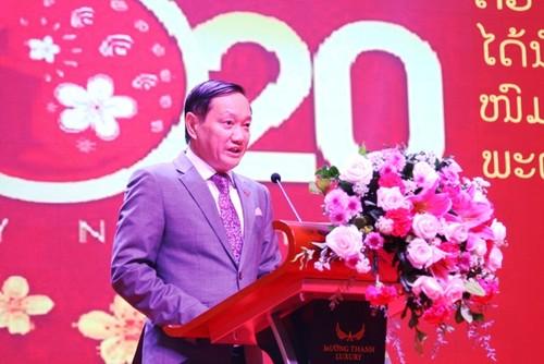 Đại sứ quán Việt Nam tổ chức Tiệc Hữu nghị Việt Nam-Lào 2020 - ảnh 2