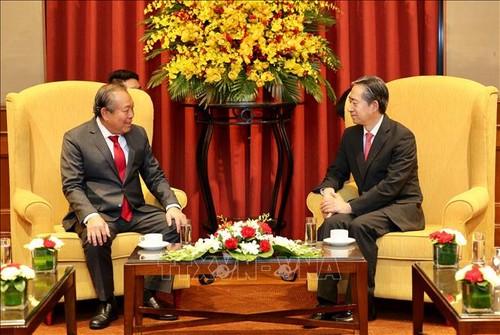 Chiêu đãi kỷ niệm 70 năm Ngày thiết lập quan hệ ngoại giao Việt Nam - Trung Quốc - ảnh 1