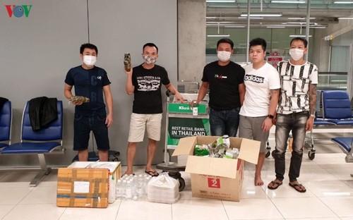 Đại sứ quán Việt Nam tại Thái Lan hỗ trợ 5 công dân Việt Nam bị kẹt ở Thái Lan - ảnh 1