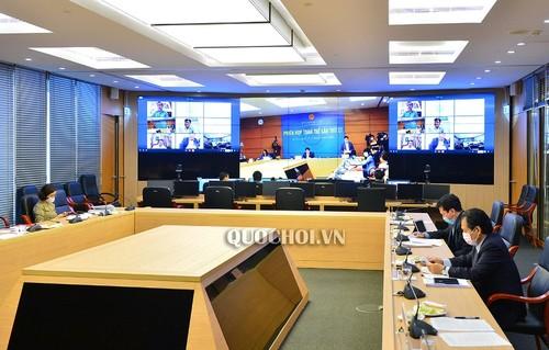 Quốc hội họp trực tuyến: linh hoạt, hiện đại, đặt nền móng cho đổi mới  - ảnh 1