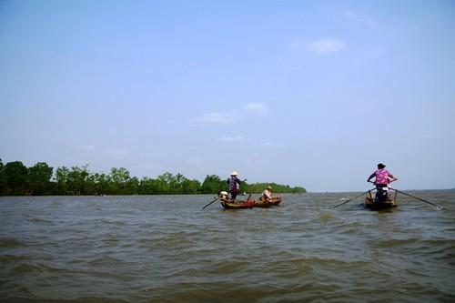 Về cồn An Lộc săn cá bông lau sông Hậu - ảnh 2