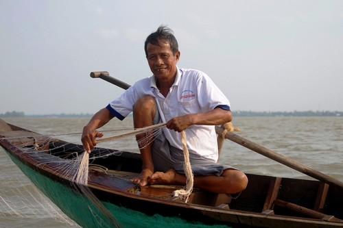 Về cồn An Lộc săn cá bông lau sông Hậu - ảnh 4